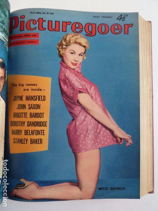 Cine: PICTUREGOER 1957. 35 REVISTAS EN UN TOMO. 18-05-1957 A 01-02-1958. EN INGLÉS. CINE. Muchas fotos - Foto 9 - 63804703