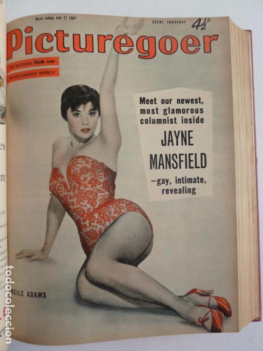 Cine: PICTUREGOER 1957. 35 REVISTAS EN UN TOMO. 18-05-1957 A 01-02-1958. EN INGLÉS. CINE. Muchas fotos - Foto 10 - 63804703