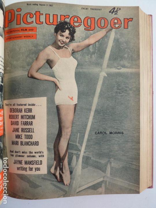 Cine: PICTUREGOER 1957. 35 REVISTAS EN UN TOMO. 18-05-1957 A 01-02-1958. EN INGLÉS. CINE. Muchas fotos - Foto 11 - 63804703