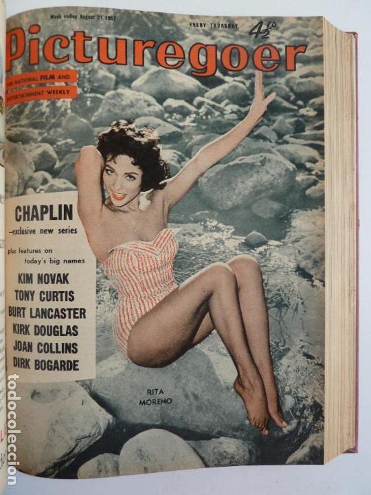 Cine: PICTUREGOER 1957. 35 REVISTAS EN UN TOMO. 18-05-1957 A 01-02-1958. EN INGLÉS. CINE. Muchas fotos - Foto 15 - 63804703