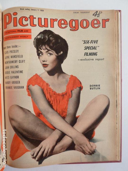 Cine: PICTUREGOER 1957. 35 REVISTAS EN UN TOMO. 18-05-1957 A 01-02-1958. EN INGLÉS. CINE. Muchas fotos - Foto 32 - 63804703