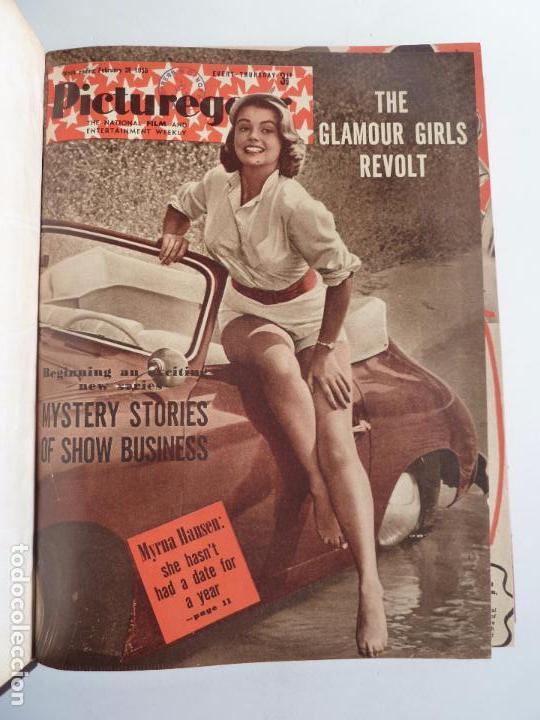 Cine: PICTUREGOER 1955. 35 REVISTAS EN UN TOMO. 26-02-1955 A 22-10-1956. EN INGLÉS. CINE. Muchas fotos - Foto 2 - 63805211