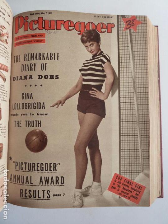 Cine: PICTUREGOER 1955. 35 REVISTAS EN UN TOMO. 26-02-1955 A 22-10-1956. EN INGLÉS. CINE. Muchas fotos - Foto 4 - 63805211