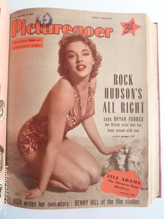 Cine: PICTUREGOER 1955. 35 REVISTAS EN UN TOMO. 26-02-1955 A 22-10-1956. EN INGLÉS. CINE. Muchas fotos - Foto 5 - 63805211
