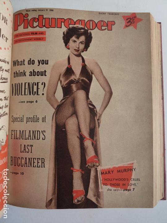 Cine: PICTUREGOER 1955. 35 REVISTAS EN UN TOMO. 26-02-1955 A 22-10-1956. EN INGLÉS. CINE. Muchas fotos - Foto 6 - 63805211