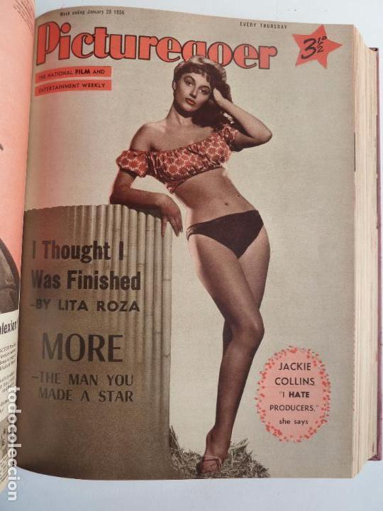 Cine: PICTUREGOER 1955. 35 REVISTAS EN UN TOMO. 26-02-1955 A 22-10-1956. EN INGLÉS. CINE. Muchas fotos - Foto 7 - 63805211