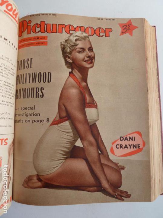 Cine: PICTUREGOER 1955. 35 REVISTAS EN UN TOMO. 26-02-1955 A 22-10-1956. EN INGLÉS. CINE. Muchas fotos - Foto 11 - 63805211
