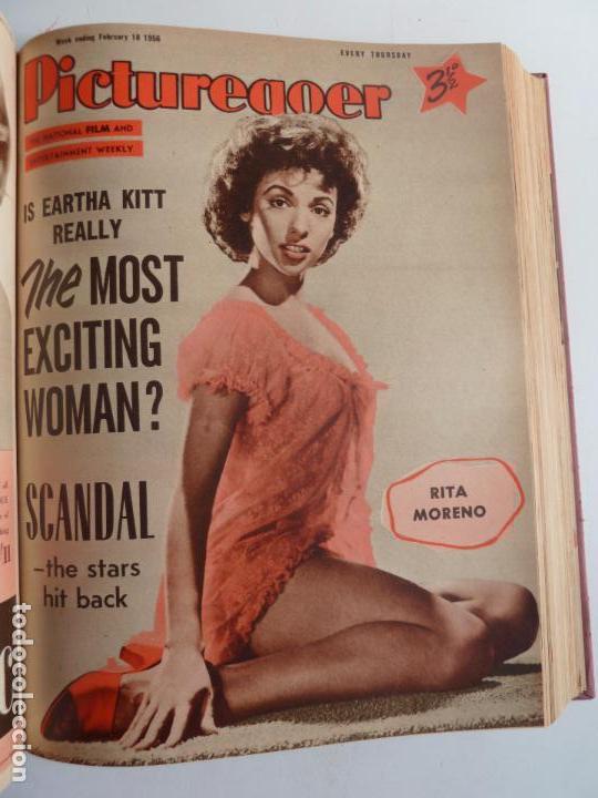 Cine: PICTUREGOER 1955. 35 REVISTAS EN UN TOMO. 26-02-1955 A 22-10-1956. EN INGLÉS. CINE. Muchas fotos - Foto 12 - 63805211