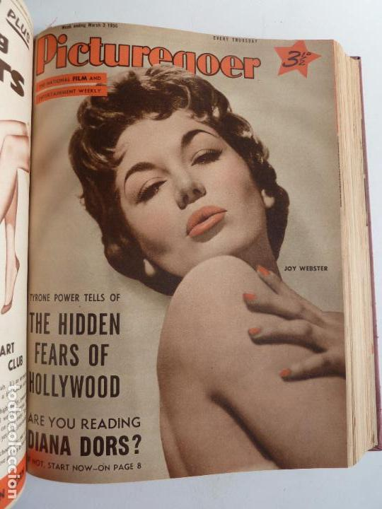 Cine: PICTUREGOER 1955. 35 REVISTAS EN UN TOMO. 26-02-1955 A 22-10-1956. EN INGLÉS. CINE. Muchas fotos - Foto 14 - 63805211