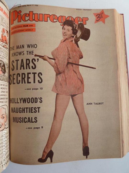 Cine: PICTUREGOER 1955. 35 REVISTAS EN UN TOMO. 26-02-1955 A 22-10-1956. EN INGLÉS. CINE. Muchas fotos - Foto 15 - 63805211