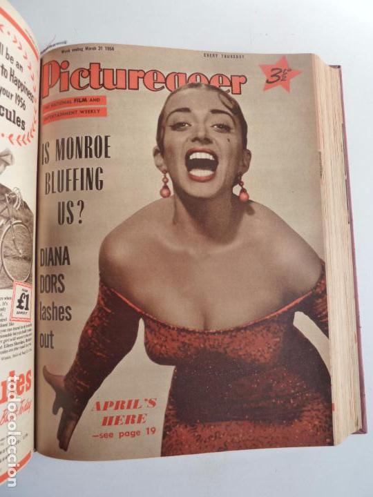 Cine: PICTUREGOER 1955. 35 REVISTAS EN UN TOMO. 26-02-1955 A 22-10-1956. EN INGLÉS. CINE. Muchas fotos - Foto 17 - 63805211