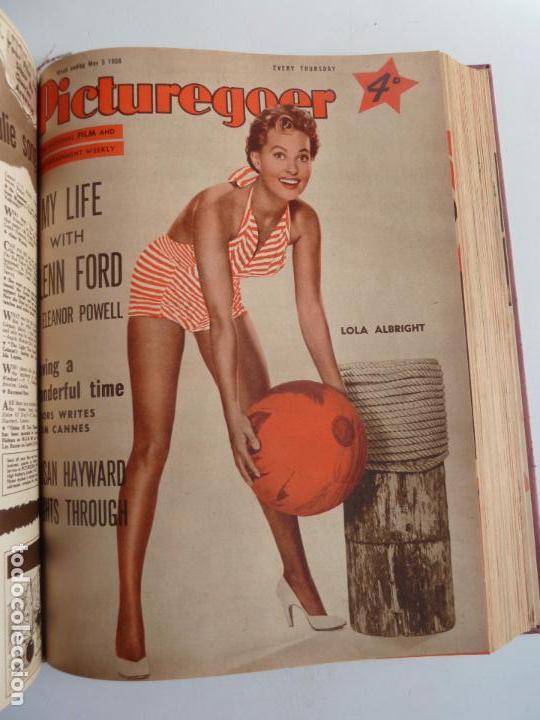 Cine: PICTUREGOER 1955. 35 REVISTAS EN UN TOMO. 26-02-1955 A 22-10-1956. EN INGLÉS. CINE. Muchas fotos - Foto 19 - 63805211