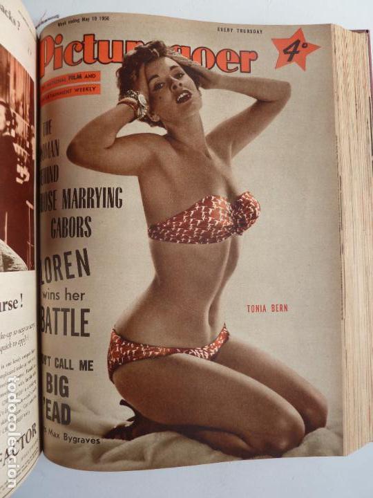 Cine: PICTUREGOER 1955. 35 REVISTAS EN UN TOMO. 26-02-1955 A 22-10-1956. EN INGLÉS. CINE. Muchas fotos - Foto 21 - 63805211