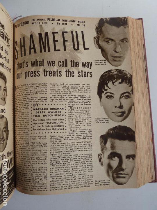 Cine: PICTUREGOER 1955. 35 REVISTAS EN UN TOMO. 26-02-1955 A 22-10-1956. EN INGLÉS. CINE. Muchas fotos - Foto 22 - 63805211