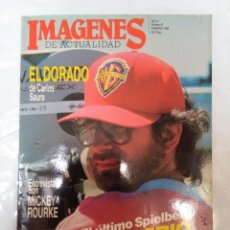 Cine: IMAGENES DE ACTUALIDAD N' 57. FEBRERO 1988. SPIELBERG, EL IMPRIO DEL SOL. SAURA. MICKEY ROURKE. Lote 63871055