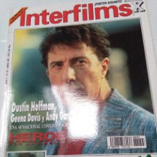 Cine: INTERFILMS. Nº 55. ABRIL 1993. DUSTIN HOFFMAN, JOHN TRAVOLTA. POLANSKI, SHARON STONE.... Lote 63882599