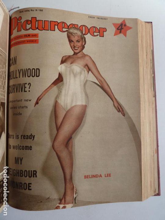 Cine: PICTUREGOER 1955. 35 REVISTAS EN UN TOMO. 26-02-1955 A 22-10-1956. EN INGLÉS. CINE. Muchas fotos - Foto 24 - 63805211