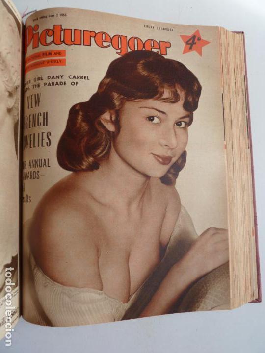Cine: PICTUREGOER 1955. 35 REVISTAS EN UN TOMO. 26-02-1955 A 22-10-1956. EN INGLÉS. CINE. Muchas fotos - Foto 25 - 63805211