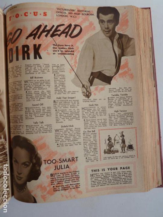 Cine: PICTUREGOER 1955. 35 REVISTAS EN UN TOMO. 26-02-1955 A 22-10-1956. EN INGLÉS. CINE. Muchas fotos - Foto 26 - 63805211