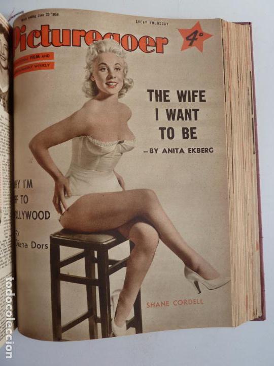 Cine: PICTUREGOER 1955. 35 REVISTAS EN UN TOMO. 26-02-1955 A 22-10-1956. EN INGLÉS. CINE. Muchas fotos - Foto 27 - 63805211