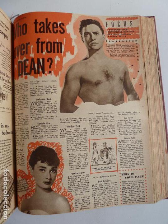 Cine: PICTUREGOER 1955. 35 REVISTAS EN UN TOMO. 26-02-1955 A 22-10-1956. EN INGLÉS. CINE. Muchas fotos - Foto 28 - 63805211