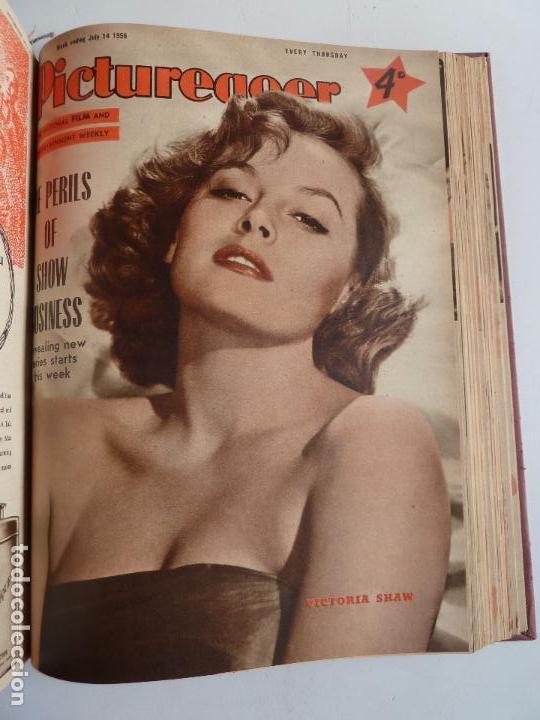 Cine: PICTUREGOER 1955. 35 REVISTAS EN UN TOMO. 26-02-1955 A 22-10-1956. EN INGLÉS. CINE. Muchas fotos - Foto 30 - 63805211