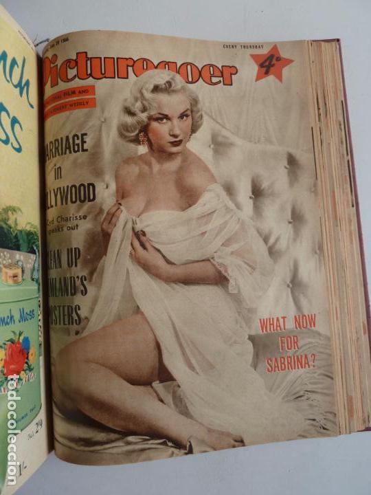 Cine: PICTUREGOER 1955. 35 REVISTAS EN UN TOMO. 26-02-1955 A 22-10-1956. EN INGLÉS. CINE. Muchas fotos - Foto 32 - 63805211