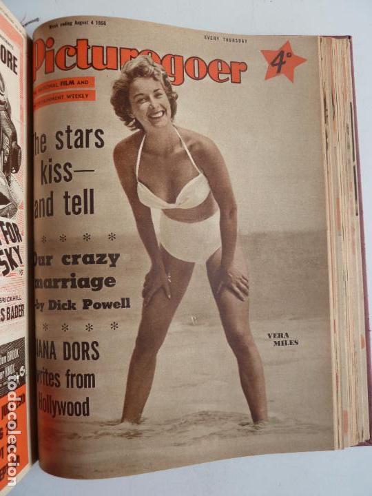 Cine: PICTUREGOER 1955. 35 REVISTAS EN UN TOMO. 26-02-1955 A 22-10-1956. EN INGLÉS. CINE. Muchas fotos - Foto 33 - 63805211