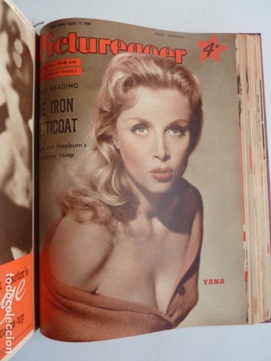 Cine: PICTUREGOER 1955. 35 REVISTAS EN UN TOMO. 26-02-1955 A 22-10-1956. EN INGLÉS. CINE. Muchas fotos - Foto 34 - 63805211