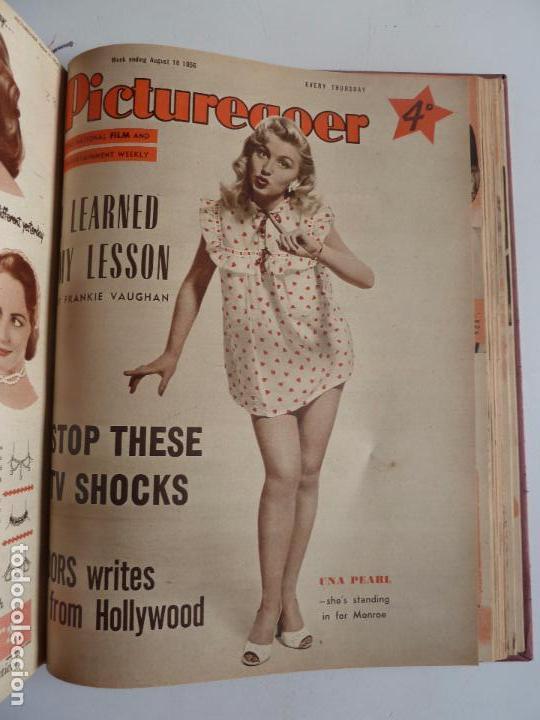Cine: PICTUREGOER 1955. 35 REVISTAS EN UN TOMO. 26-02-1955 A 22-10-1956. EN INGLÉS. CINE. Muchas fotos - Foto 35 - 63805211