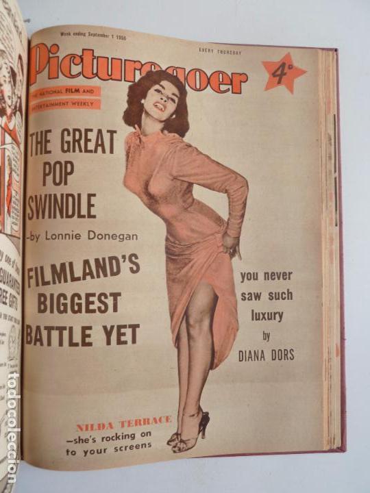 Cine: PICTUREGOER 1955. 35 REVISTAS EN UN TOMO. 26-02-1955 A 22-10-1956. EN INGLÉS. CINE. Muchas fotos - Foto 36 - 63805211