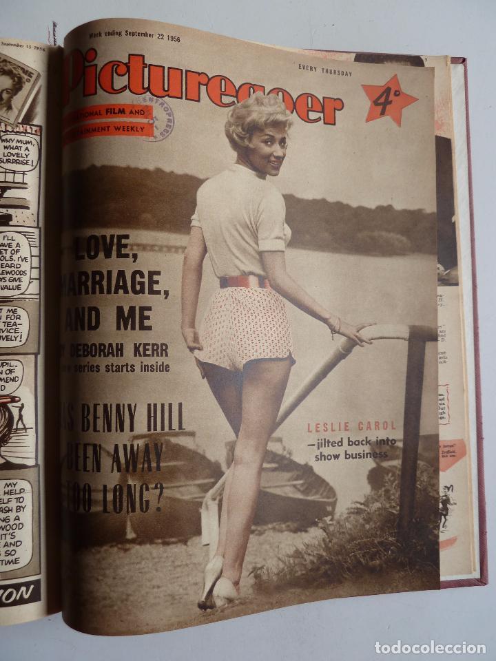 Cine: PICTUREGOER 1955. 35 REVISTAS EN UN TOMO. 26-02-1955 A 22-10-1956. EN INGLÉS. CINE. Muchas fotos - Foto 38 - 63805211
