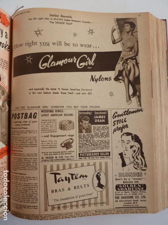 Cine: PICTUREGOER 1955. 35 REVISTAS EN UN TOMO. 26-02-1955 A 22-10-1956. EN INGLÉS. CINE. Muchas fotos - Foto 40 - 63805211