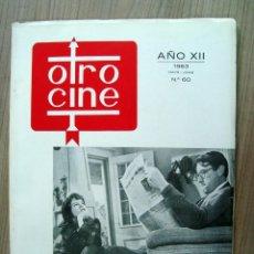 Cine: REVISTA OTRO CINE, NUM. 60 - 1963. Lote 64310867