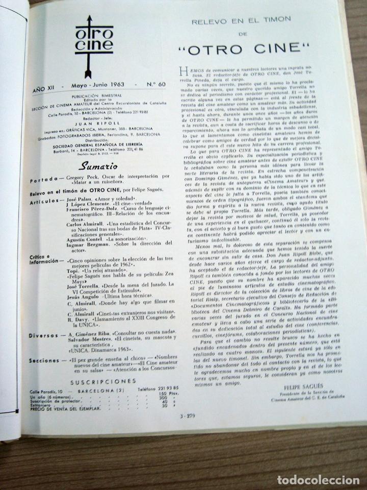 Cine: Revista otro cine, num. 60 - 1963 - Foto 2 - 64310867