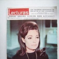 Cinema: CARMEN SEVILLA Y LOS TRES SUDAMERICANOS. REVISTA LECTURAS, DE 1966.. Lote 64336831