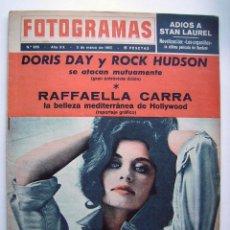 Cine: LAUREL Y HARDY, DORIS DAY Y MARISOL. REVISTA FOTOGRAMAS, DE 1965.. Lote 64347671