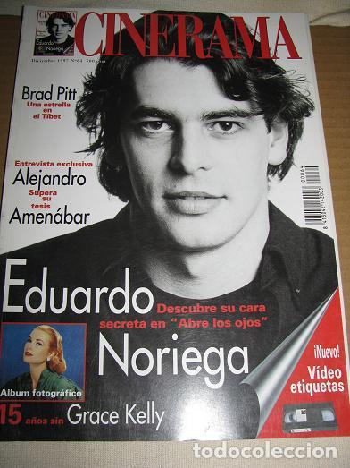CINERAMA Nº64 (DICIEMBRE 1997) EN PORTADA:EDUARDO NORIEGA (LEER DESCRIPCION) (Cine - Revistas - Cinerama)