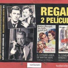 Cine - SUPLEMENTO DE CINEMANIA 144 COLECCION CLASICOS OCULTOS Nº.5 RETORNO (BIS) AL PASADO - 64438143