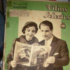 Cine: FILMS SELECTOS Nº 211 AÑO 1934. ANTOÑITA COLOMÉ. Lote 64579859
