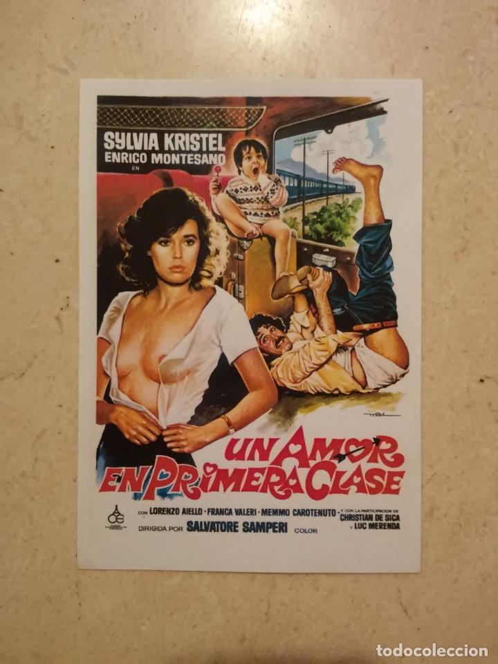 REPRODUCCION 9*13 - UN AMOR EN PRIMERA CLASE - SYLVIA KRISTEL - MAC (Cine - Reproducciones de carteles, folletos...)