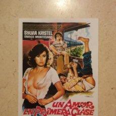 Cinema: REPRODUCCION 9*13 - UN AMOR EN PRIMERA CLASE - SYLVIA KRISTEL - MAC. Lote 64737251