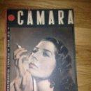 Cine: REVISA CINEMAOGRAFICA CAMARA 1942 . Lote 64992747