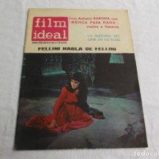 Cine: FILM IDEAL Nº 126 ,AGOSTO-1963,FELLINI HABLA DE FELLINI,JUAN ANTONIO BARDEN,LA HISTORIA DEL CINE EN . Lote 65029795