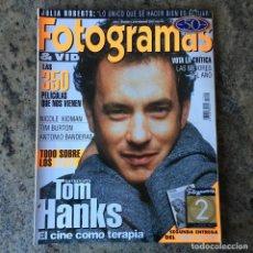 Cine: FOTOGRAMAS 1840 - FEBRERO 97 . TOM HANKS . LOS GOYA , TIM BURTON . ANTONIO BANDERAS .. Lote 65480358