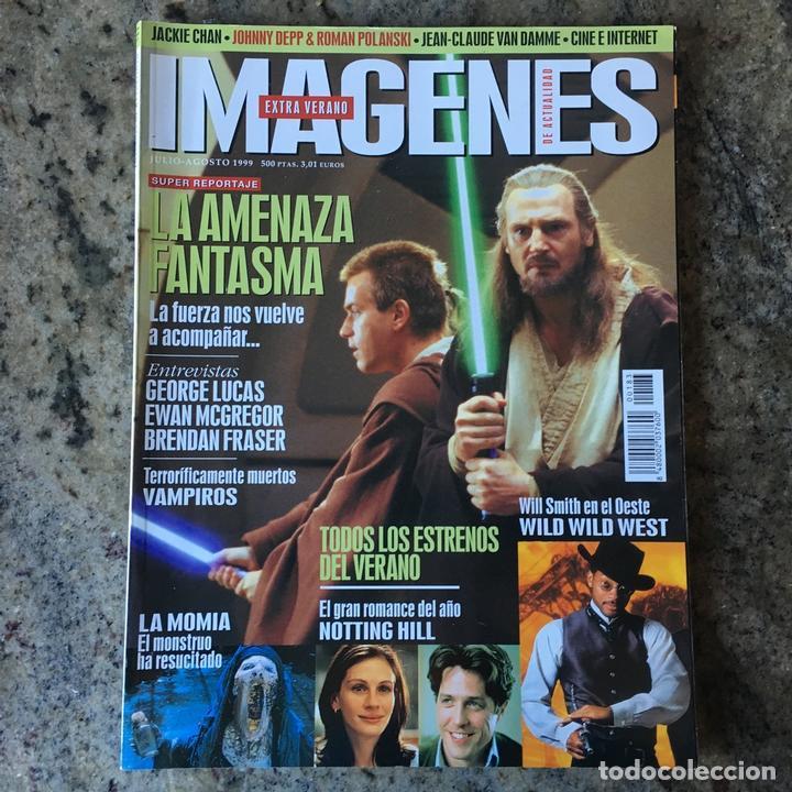 IMAGENES DE ACTUALIDAD 183 - JULIO 1999 . LA AMENAZA FANTASMA . GEORGE LUCAS . LA MOMIA . VAMPIROS (Cine - Revistas - Imágenes de la actualidad)