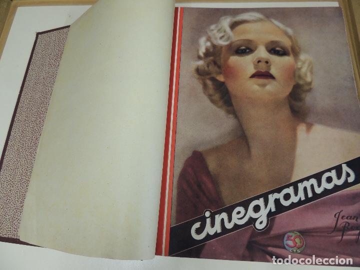 Cine: Tomo 31 revistas cine cinegramas encuadernadas año 1935 1936 muy buen estado - Foto 11 - 65751722
