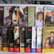 Cine: INTERFILMS LOTE DE16 REVISTAS NÚMEROS 1 AL 16 (1988-1989) COMO NUEVAS. Lote 65916802