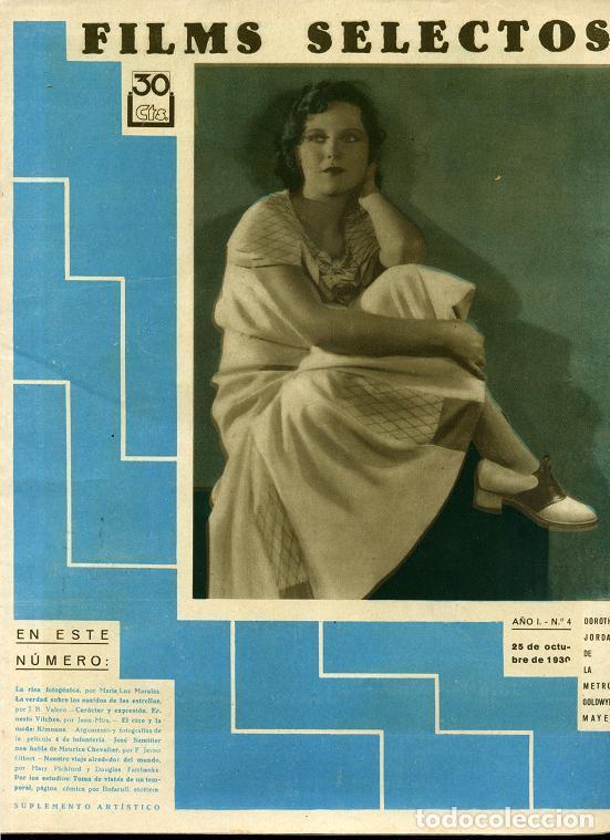 Cine: FILMS SELECTOS revista de cine del nº 1 al 300, año 1930 a 1936 falta el nº 294 ... rr - Foto 2 - 67222105