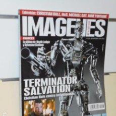 Cine: REVISTA DE CINE IMAGENES DE ACTUALIDAD Nº 292 JUNIO 2009. TERMINATOR SALVATION.. Lote 67323553